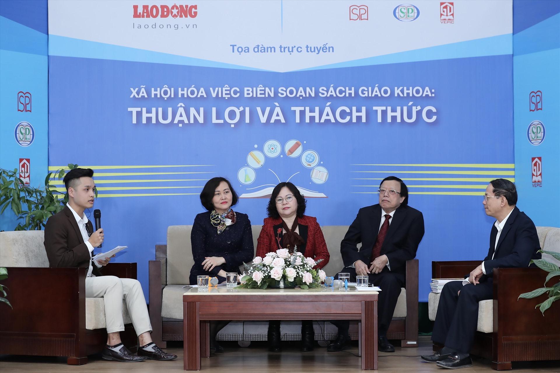 Công bố chính thức bộ sách giáo khoa xã hội hóa đầu tiên tại Việt Nam
